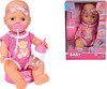 Simba Toys Poupée New Born Baby 30 cm avec son pot 806044004697