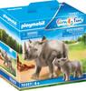 Playmobil Playmobil 70357 Rhinoceros et sont petit (mars 2021) 4008789703576