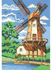 """Reeves Peinture à numéro junior moulin à vent 9x12"""" 780804120561"""