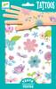 Djeco Tatouages fleurs (fr/en) 3070900095854