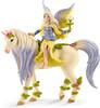 Schleich Schleich 70565 Fée Sera avec la licorne aux fleurs 4055744020346