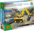 Constructor Constructor Excavatrice Hulk, 189 pièces en métal 5906018016437