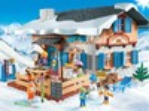 Playmobil Playmobil 9280 Chalet avec skieurs 4008789092809