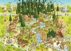 Heye Casse-tête 1000  Marino Degano - habitat Forêt-Noire 4001689296384