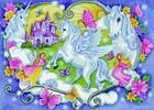 Diamond Dotz Broderie diamant Magie de licornes et princesse (Princess Magic) Diamond Dotz (Diamond Painting, peinture diamant) 4897073244334