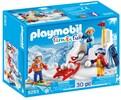Playmobil Playmobil 9283 Enfants avec boules de neige 4008789092830