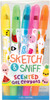 Scentco Crayons gels parfumés Sketch & sniff, ensemble de 5 692046911152