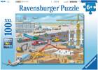 Ravensburger Casse-tête 100 XXL Construction de l'aéroport 4005556106240