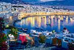 Trefl Casse-tête 1500 Mykonos au crépuscule, Grèce 5900511261448