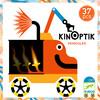 Djeco Kinoptik véhicules, mouvement optique, 38pcs (fr/en) 3070900056015