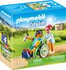 Playmobil Playmobil 70193 Patient en fauteuil roulant 4008789701930