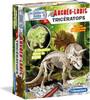 Clementoni Fouille Archéo-ludic tricératops phosphorescent (fr) 8005125520695