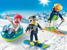 Playmobil Playmobil 9286 Vacanciers aux sports d'hiver 4008789092861