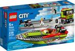 LEGO LEGO 60254 City Le transport du bateau de course 673419319225