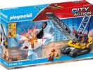 Playmobil Playmobil 70442 Dragline avec mur de construction 4008789704429
