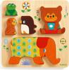 Djeco Casse-tête Puzzle en bois Woodypile 3070900010567