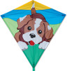 "Premier Kites Cerf-volant monocorde diamant 30"" chiot enjoué 630104154011"