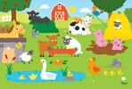 Trefl Casse-tête 15 animaux de la ferme 5900511142754
