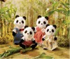 Calico Critters Calico Critters Panda Wilder, famille 020373315198