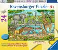 Ravensburger Casse-tête plancher 24 Animaux au plan d'eau 4005556055425