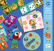 Djeco Bingo mémo domino Les p'tits copains (fr/en) 3070900081314
