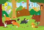 Trefl Casse-tête 15 animaux de la forêt 5900511142761