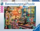 Ravensburger Casse-tête 1000 Le hangar pour la couture 4005556198924