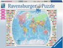 Ravensburger Casse-tête 1000 Carte du monde politique 4005556196333