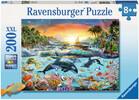 Ravensburger Casse-tête 200 XXL le paradis des orques 4005556128044
