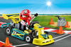 Playmobil Playmobil 9322 Mallette transportable Pilote de karting 4008789093226