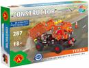 Constructor Constructor Camion à benne basculante Terra, 287 pièces en métal 5906018014907