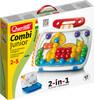 Quercetti Combi Junior Fantacolor Junior (mosaïque à chevilles) + tableau blanc Quercetti 4199 8007905041994