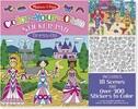 Melissa & Doug Bloc d'autocollants à colorier vêtements Melissa & Doug 9469 000772094696