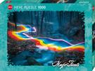 Heye Casse-tête 1000 Route arc-en-ciel - Forêts magiques (Magic Forests) 4001689299439