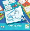 Djeco Eduludo dessin step by step Arthur (fr/en) apprendre à dessiner étape par étape 3070900083219