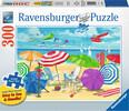 Ravensburger Casse-tête 300 Large Retrouvailles à la plage 4005556135905