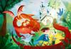 Clementoni Casse-tête 180 le dragon et le chevalier 8005125292097