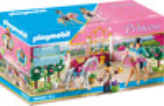 Playmobil Playmobil 70450 Princesse avec chevaux et instructeur (août 2021) 4008789704504