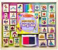 Melissa & Doug Deluxe Wooden Stamp Set - Fairy Tale Melissa & Doug 31900 000772319003