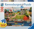 Ravensburger Casse-tête 300 Large Village de Pêcheurs 4005556135936