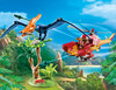 Playmobil Playmobil 9430 Hélicoptère et Ptéranodon 4008789094308