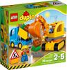 LEGO LEGO 10812 DUPLO Le camion et la pelleteuse (août 2016) 673419250740