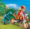Playmobil Playmobil 9431 Pilote de moto et raptor 4008789094315