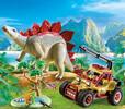 Playmobil Playmobil 9432 Explorateur avec véhicule et stégosaure 4008789094322
