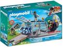 Playmobil Playmobil 9433 Bateau avec cage et deinonychus 4008789094339
