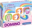 Clementoni Domino licorne (fr/en) 8005125180332