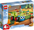 LEGO LEGO 10766 Juniors Woody et la voiture téléguidée, Histoire de jouets 4 (Toy Story 4) 673419301978