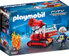 Playmobil Playmobil 9467 Pompier avec robot d'intervention 4008789094674