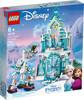 LEGO LEGO 43172 Princesse Le palais des glaces magique d'Elsa, La Reine des neiges (Frozen) 673419319652