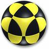 MARUSENKO MARUSENKO sphère noir et jaune niveau 1 8437011411129